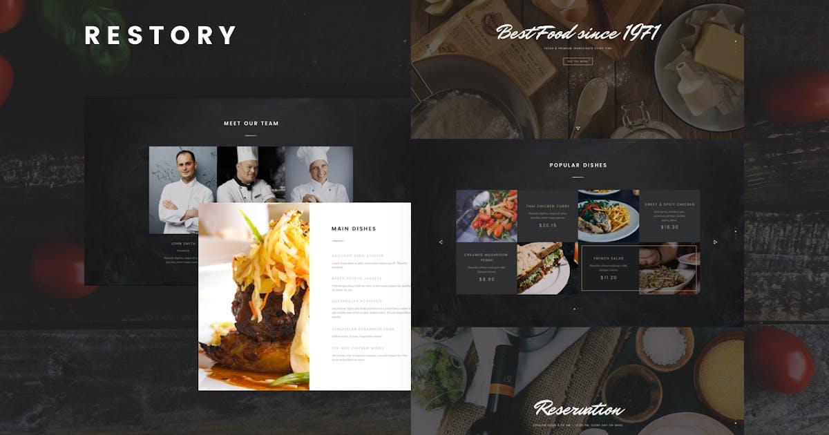 Download Restory - Restaurant & Cafe Joomla Template by Nunforest