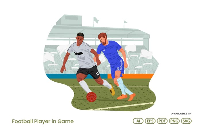 Thumbnail for Football Player in Game