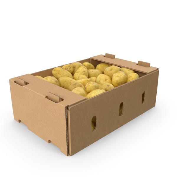Kartonschachtel Kartoffeln