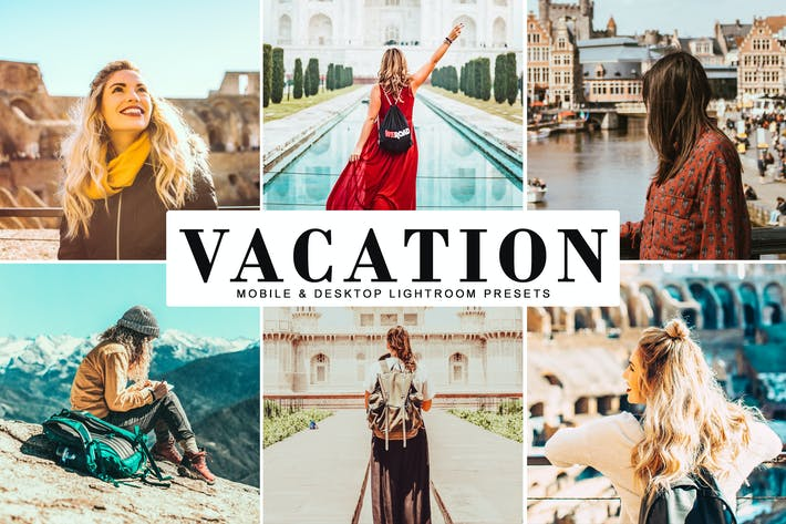 Thumbnail for Vacation Mobile & Desktop Lightroom Presets