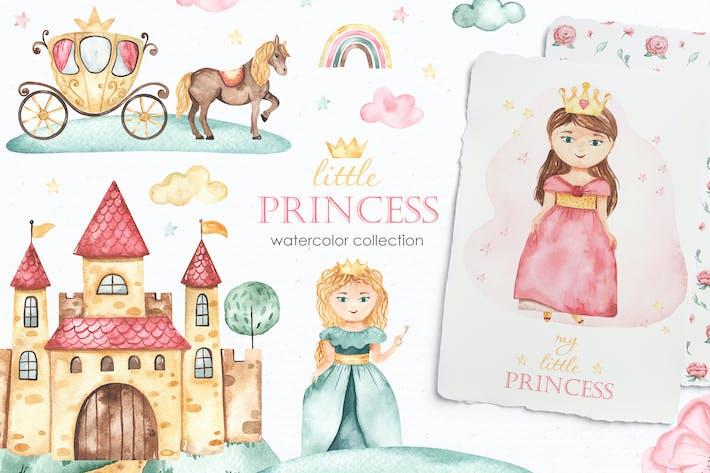 Thumbnail for Kleine Prinzessin Aquarell
