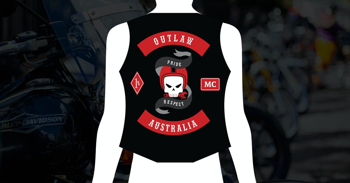 Download Outlaw : One Percenter Motorcycle Club Logo by punkl