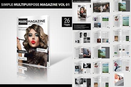 Simple Multipurpose Magazine Vol.01