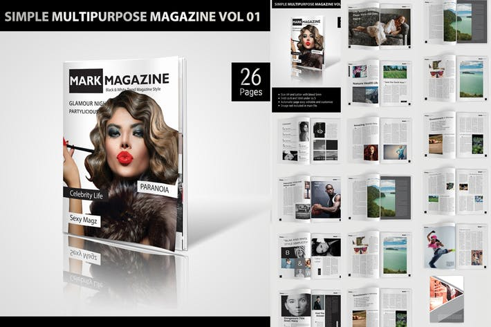 Thumbnail for Simple Multipurpose Magazine Vol.01