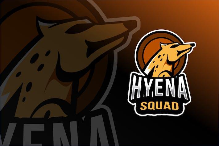 Hyena Squad Esport Logo Template
