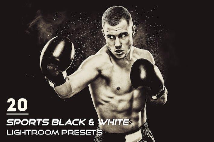 Thumbnail for 20 Sports Black & White Lightroom Presets