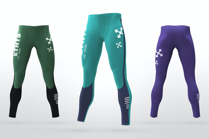 Thumbnail for Sports Leggings Mockups