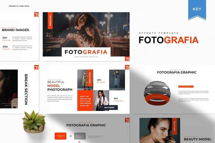 Thumbnail for Fotografia | Keynote Template