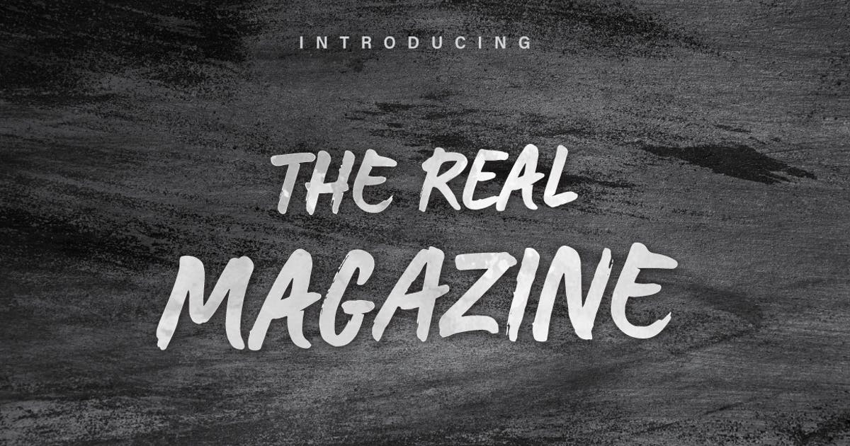 Download The Real Magazine by yipianesia