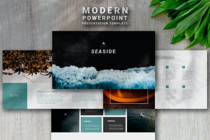 Thumbnail for Seaside - Powerpoint Presentation Template