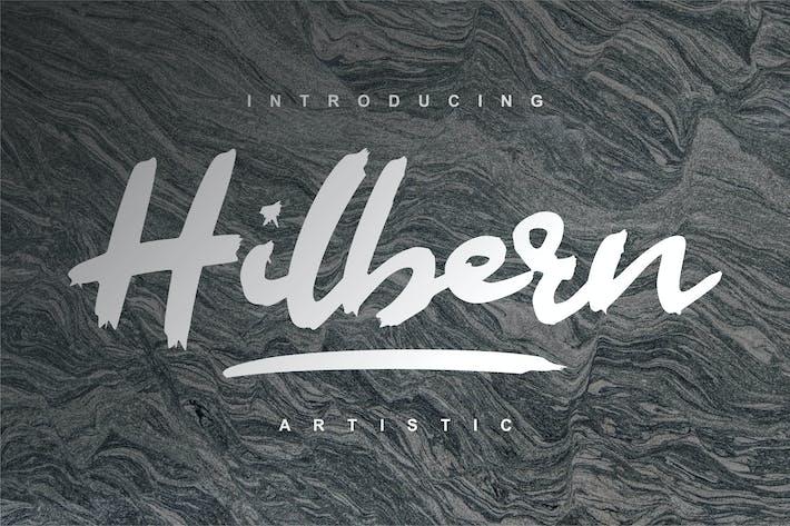 Thumbnail for Hilbern Artistic Font