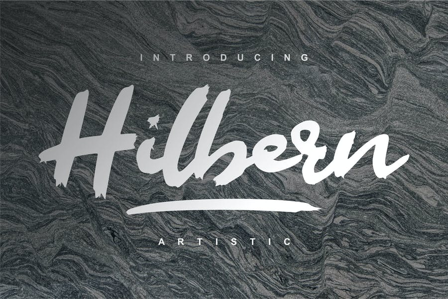 Hilbern Artistic Font