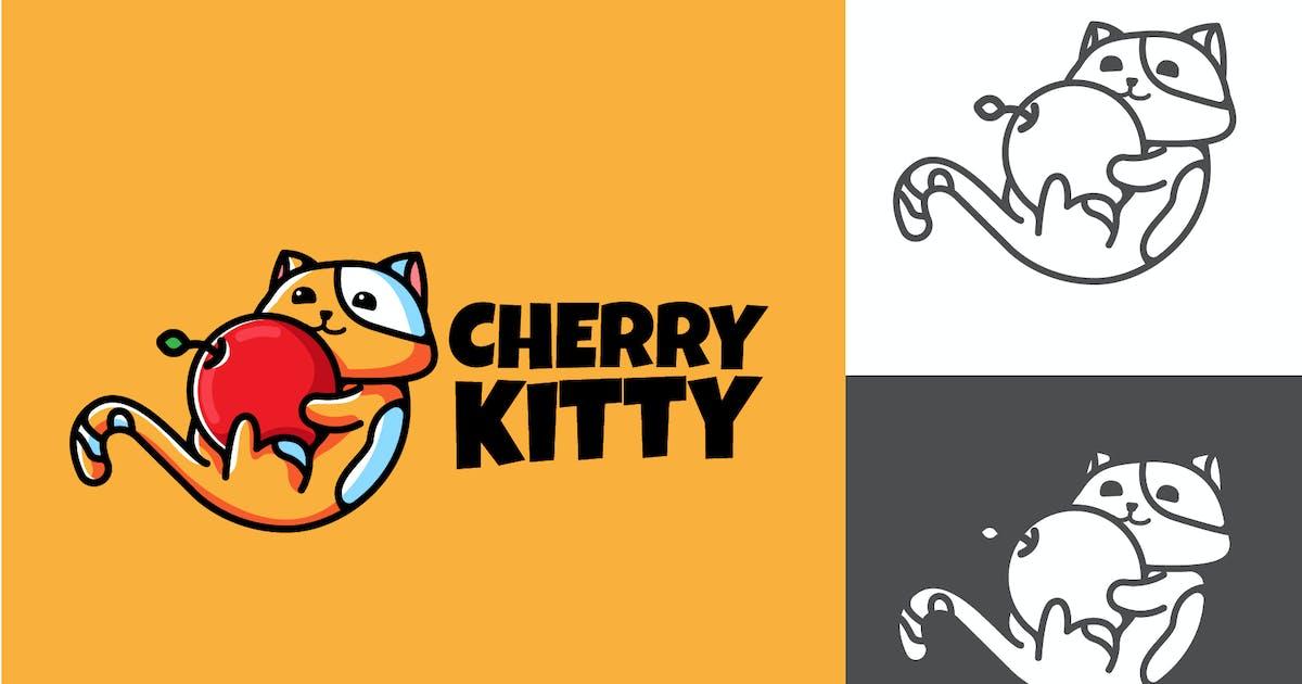 Download CHERRY KITTY - Mascot & Esport Logo by aqrstudio