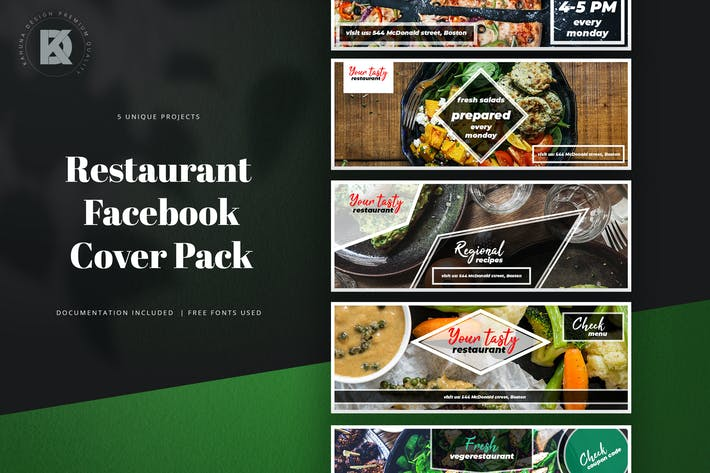 Cover Image For Restaurant Facebook Cover