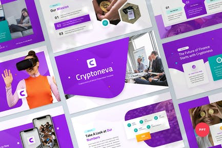 Cryptocurrency Investment Powerpoint Template