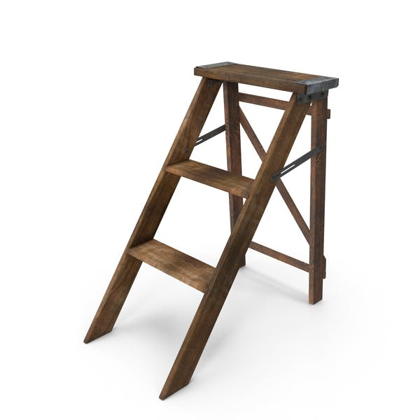 Thumbnail for Wooden Step Ladder