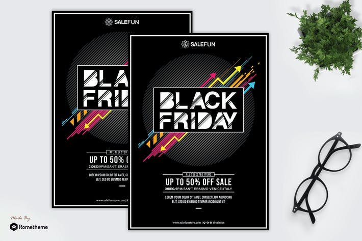 Thumbnail for Salefun - Happy Black Friday Flyer HR