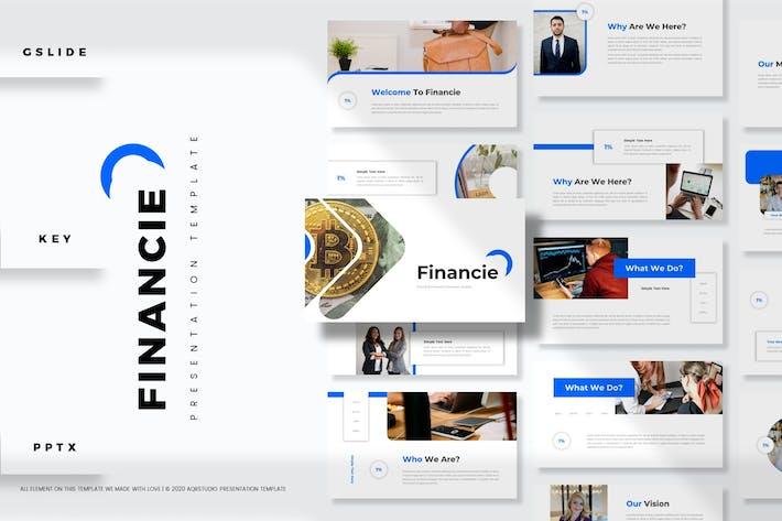 Financie - Presentation Template