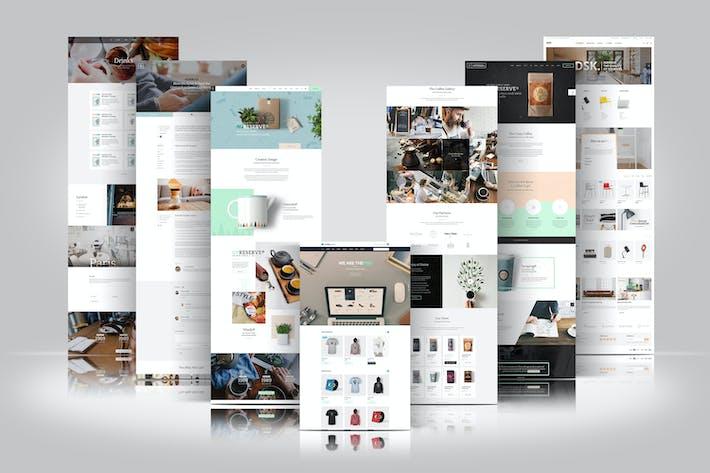 Thumbnail for Web Themes Presentation Mockup