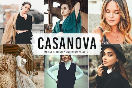 Casanova Mobile & Desktop Lightroom Presets