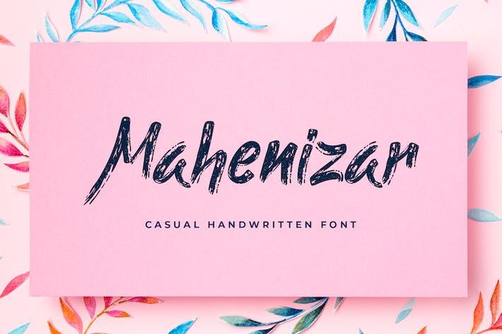 Thumbnail for Mahenizar cepillo de fuente manuscrita