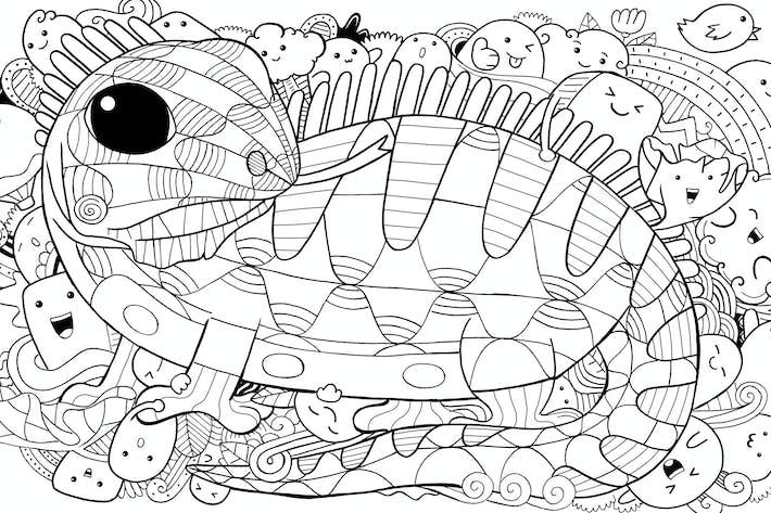 Thumbnail for Iguana Doodle