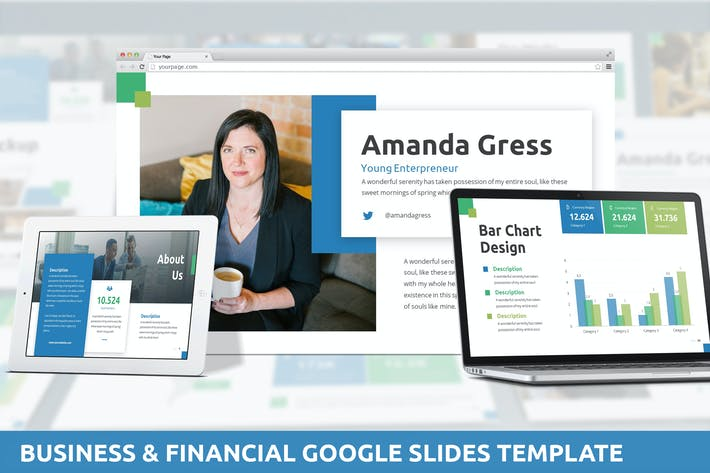 Thumbnail for Business & Financial Google Slides Template