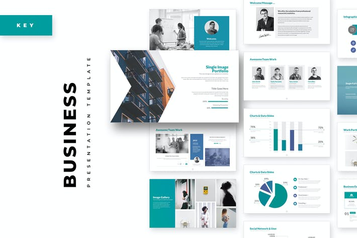 Thumbnail for Business Keynote Template