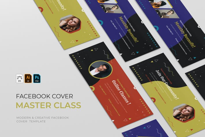 Thumbnail for Masterclass | Facebook Cover