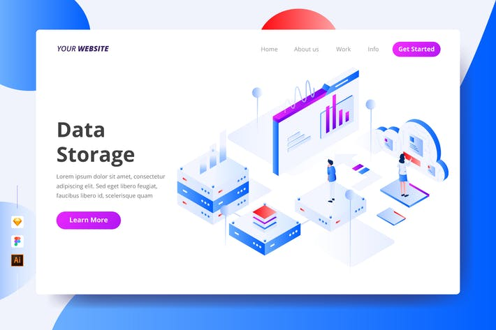 Thumbnail for Data Storage - Landing Page
