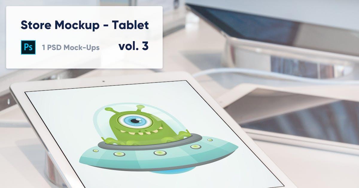 Download Tablet Mockup in the Store - Vol. 3 by maroskadlec