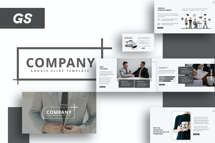 Thumbnail for Company Google Slide Template