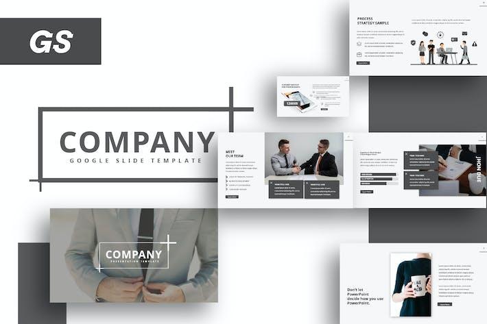 Thumbnail for Company Google Slide Template