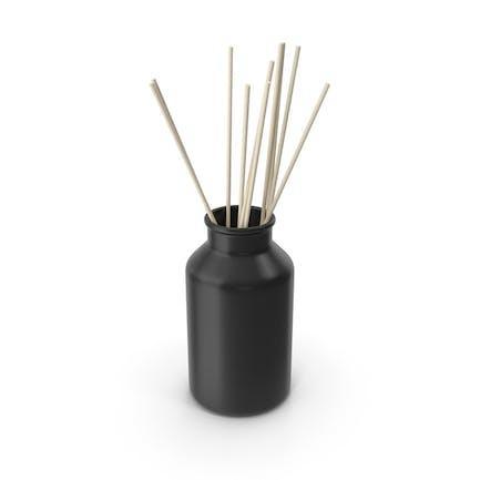 Decorative Jar Black