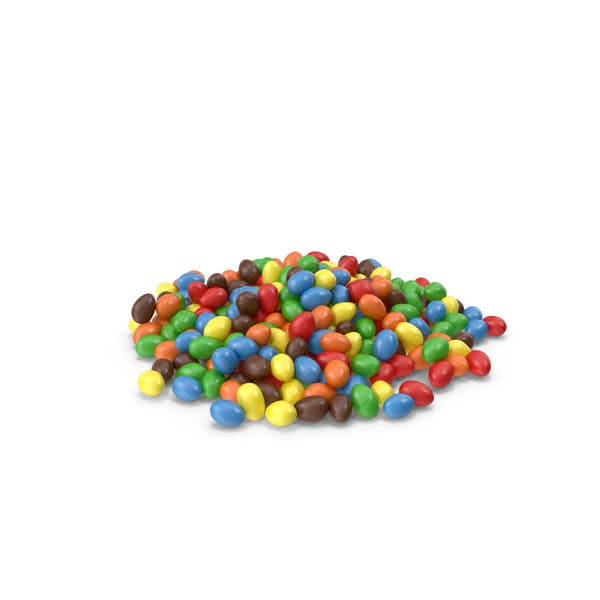 Thumbnail for Pile of Peanuts with Colored Chocolate Coating