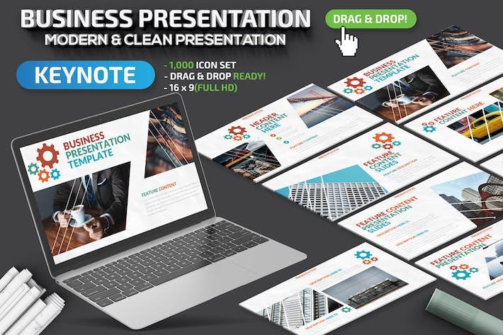 Cover Image For Business Keynote Presentation
