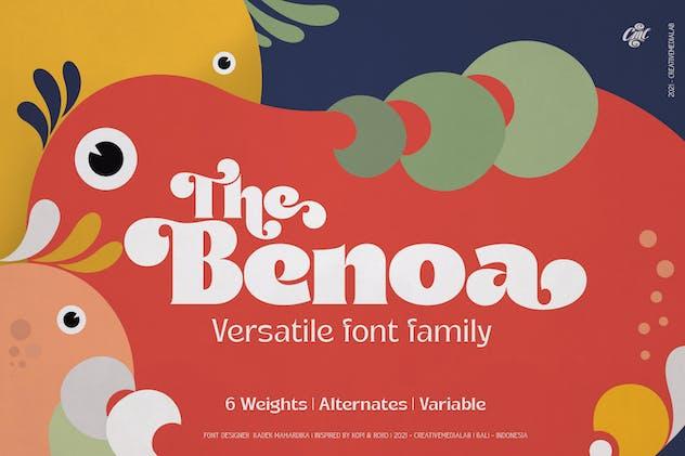 Benoa Font