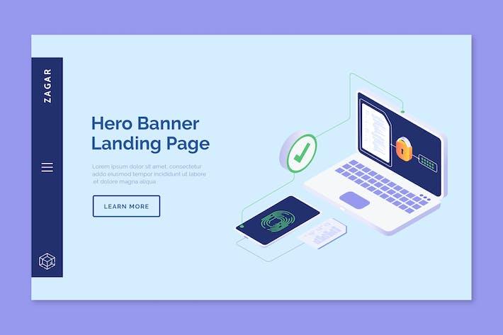 Thumbnail for Zagar - Hero Banner Template