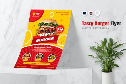 Tasty Burger Flyer