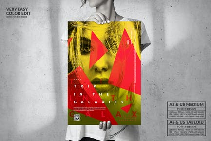 Dance Music Party - Big Poster Design