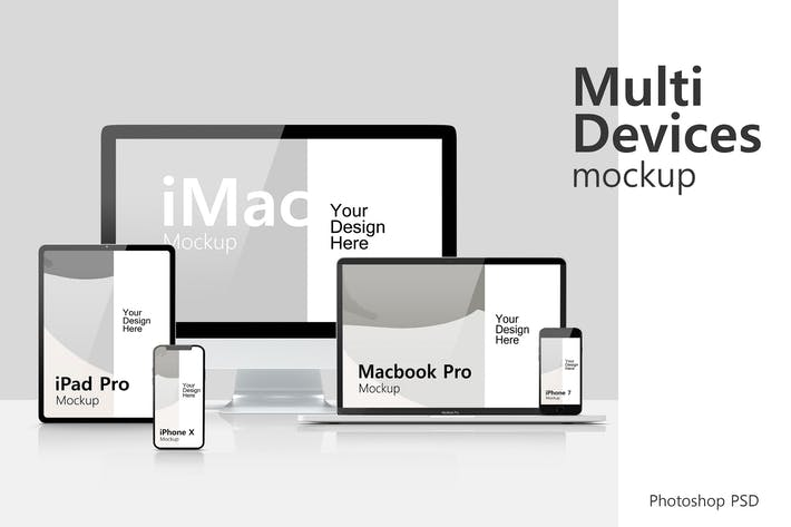 Thumbnail for Multi Devices Mockup