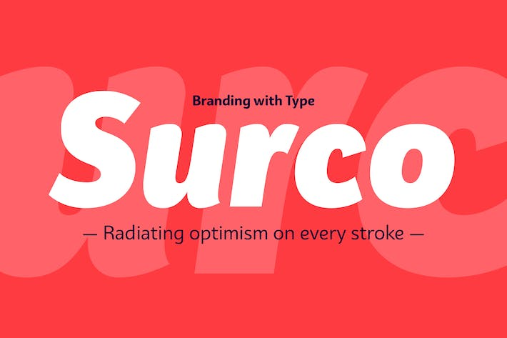 Thumbnail for Bw Surco font family