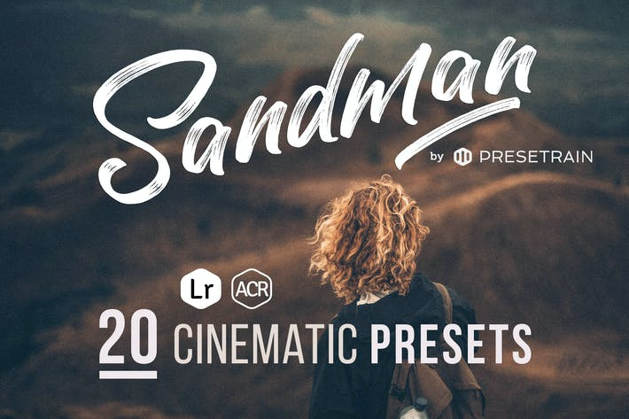Cover Image For Sandman Cinematic ACR & Lightroom Presets