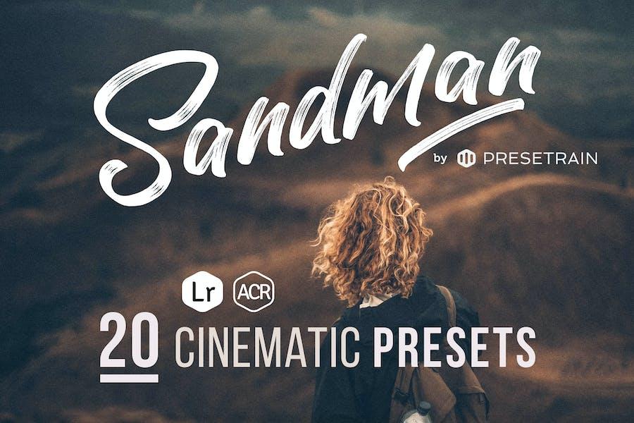 Sandman Cinematic ACR & Lightroom Presets
