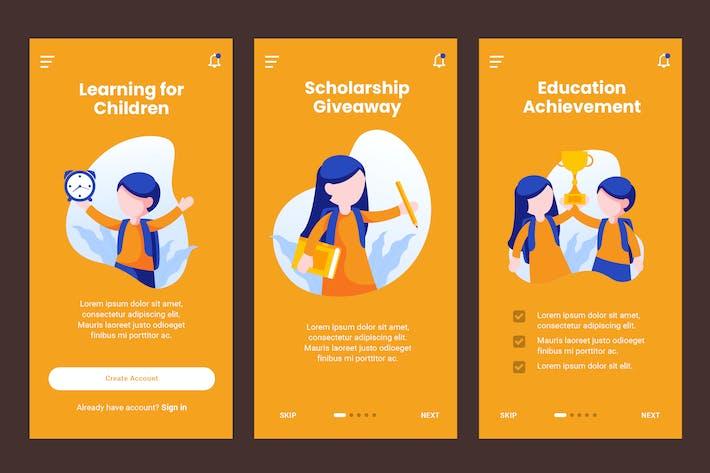 Thumbnail for Écran d'intégration pour les enfants Modèle d'éducation