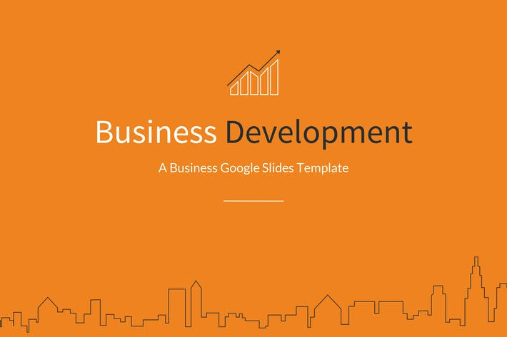Cover Image For Business Development Google Slides Template