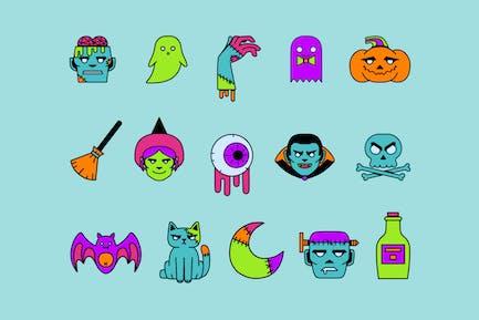 Creepy Colors Icons