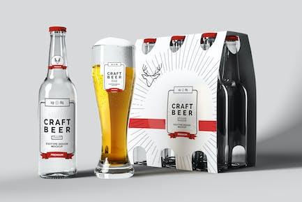 Maquette de bière