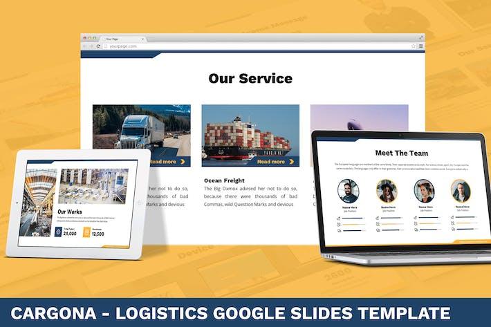 Thumbnail for Cargona - Logistics Google Slides Template