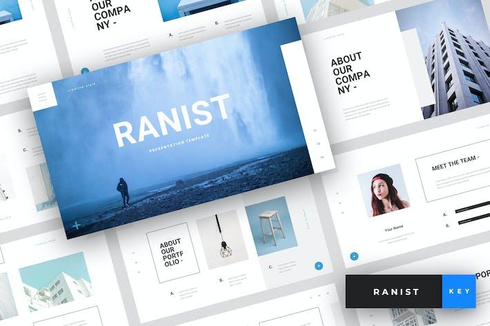 Thumbnail for Ranist - Creative Keynote Template